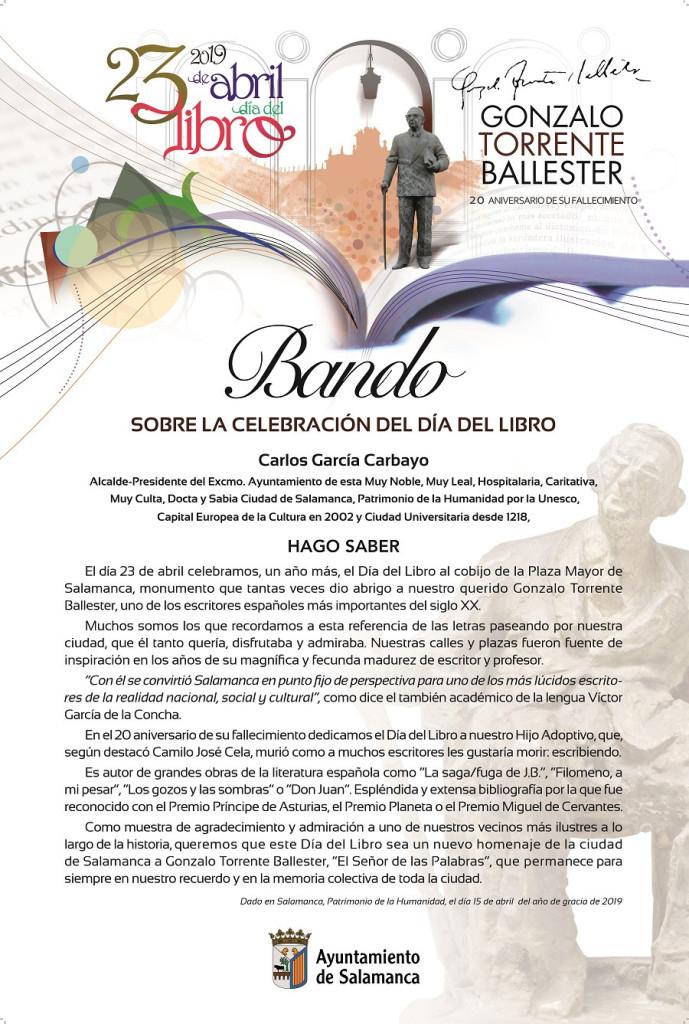 BANDO Día del Libro 2019