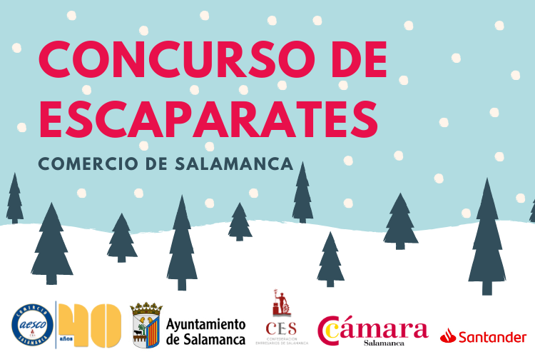 Cartel Concurso de Escaparates 2019