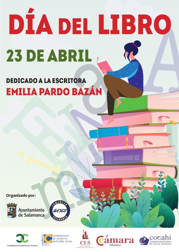 Cartel Día del libro 2021
