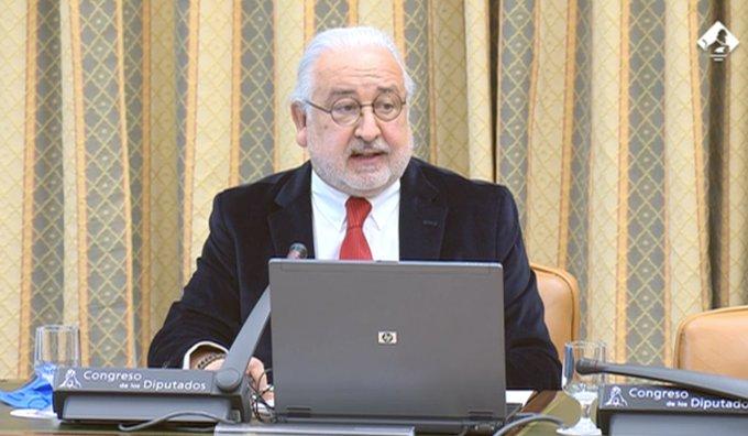 Pedro Campo, en la Comisión de Comercio (1)
